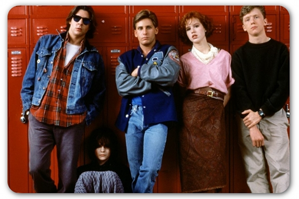 The Breakfast Club. Claire the Queen Bee in pink. image from ign.com ...